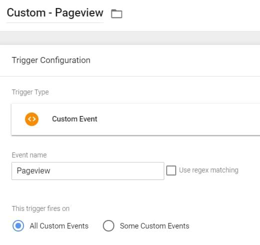 Criando um custom event