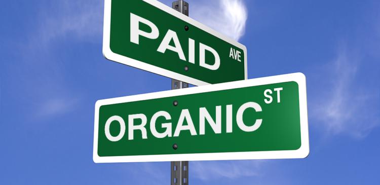 trafego organico e pago