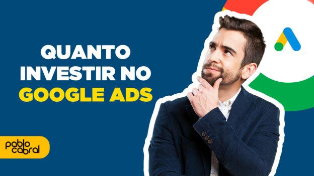 quanto custa o google ads